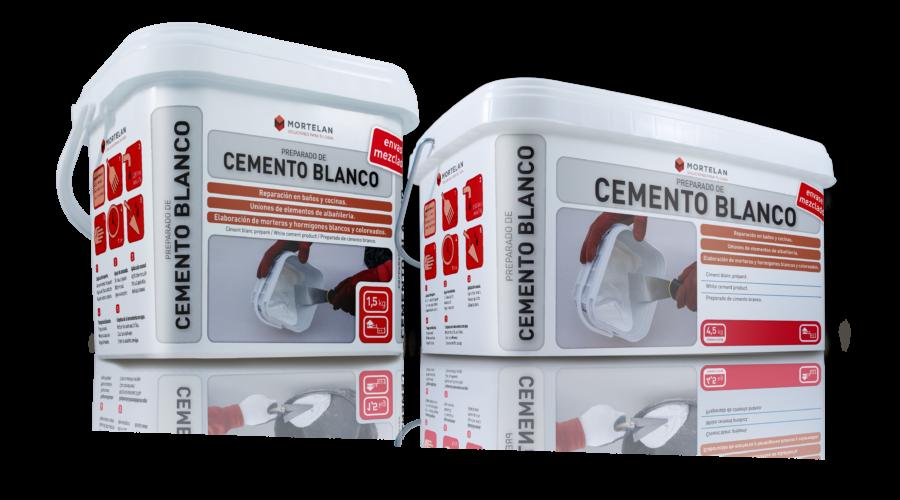 Mortelan cemento blanco