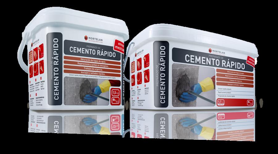 Mortelan cemento rapido